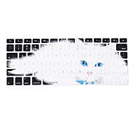 XSKN Silicon-Sleepy Cat Laptop Keyboard Skin Cover for MacBook PRO MacBook Air