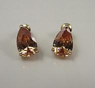 Damen Ohrring Kubikzirkonia Stud Earrings