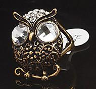 Owl forma de anel da forma (cor aleatória)