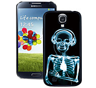 For Samsung Galaxy Case Pattern Case Back Cover Case Skull PC Samsung S4