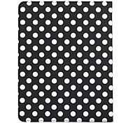 360 Degree Rotating Round Dots Pattern Auto Sleep & Wake-Up PU Leather Case with Stand for iPad 2/3/4 (Optional Colors)