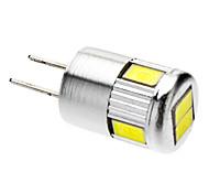 3W G4 Focos LED 6 SMD 5730 220-250 lm Blanco Fresco AC 12 V