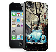 autopatroon 3d effect voor iphone4/4s