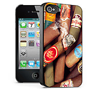 Cigarettes Pattern 3D Effect Case for iPhone4/4S