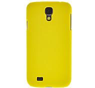 Black Rubber Hard Case + 3 Pcs Limpar Protector LCD para Samsung Galaxy S4 i9500/i9295