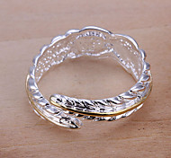 Separate feather opening ring