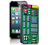 Technology Pattern 3D Effect Case for iPhone5