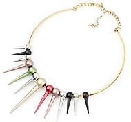 Европейские и американские торговые ювелирные ретро красочные свитера перца цепи ожерелье N76