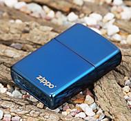 Zippo Blue Windproof Rechange Oil Lighter