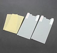 2 Packed Screen Protector with Cleaning Cloth for Sony Ericsson LT26i / Xperia S