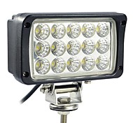 45W 15 LEDs Rectangle Work Light
