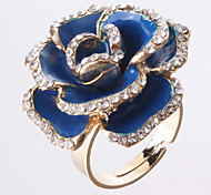 Rose Golden-Framed Opening Ring