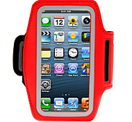 Red Solf Belt Sport Armband for iPhone 5