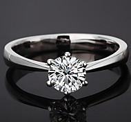 z&X® (1 pc) anelli strass trasparenti delle donne classiche