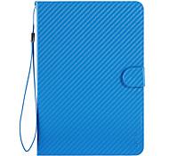 azul MANO caso delgado estupendo auto-sueño para el ipad Mini 3, Mini iPad 2, iPad mini