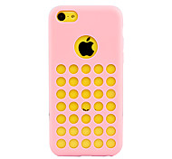 Solid Color Protective Case for iPhone 5C (Assorted Color)