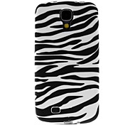 Black-And-White Zebra-Stripe Pattern Hard Case for Samsung Galaxy S4 I9500