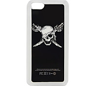 Skull Pattern Case Cover for iPhone 5C