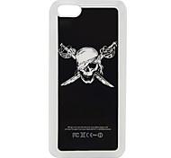 Schädel-Muster-Fall-Abdeckung für iPhone 5C