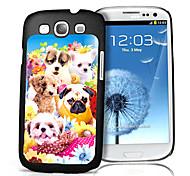Dog Pattern 3D Effect Case for Samsung S3 I9300