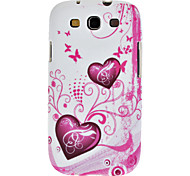 For Samsung Galaxy Case Pattern Case Back Cover Case Heart TPU Samsung S3