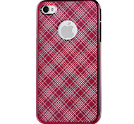 Mirror Pattern Protector PC Hard Case for iPhone4/4S