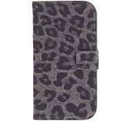 Leopard Print PU Leather Pattern Protective Pouches for Samsung Galaxy S3 I9300