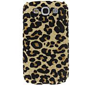 Bling d'impression de léopard Coque rigide pour Samsung Galaxy S3 I9300