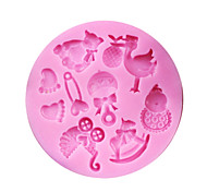 1PCS Baby Shower Party Silicone Mold