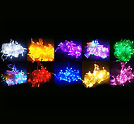 100-LED 10M Decoration light for Christmas Party RGB Light LED String Light with 8 Display Modes (220V)