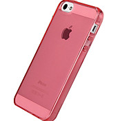 cas de TPU transparent pour iPhone 5