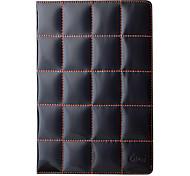 brilliant Gitter-Design Abdeckung 3 Position schützende pu Ledertasche für ipad2/3/4
