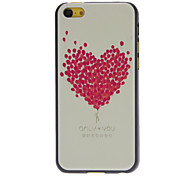 Fresh Designed Rose Balloon Heart Shape Pattern Hard Case for iPhone 5C