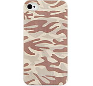 Armée cas de dos de couleur de camouflage pour l'iPhone 4/4S