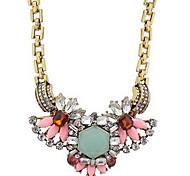 broca plena flor grande jóia colar de pingente