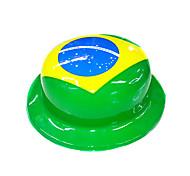 Sombrero de la bandera nacional de Brasil
