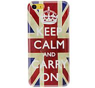 Royal Crown en el caso duro de Union Jack modelo de iPhone 5C