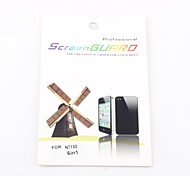 6XClear Front Screen Protector for Samsung Galaxy Note 2 N7100