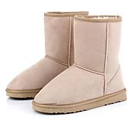 Clássico meados de bezerro botas de inverno da Mulher
