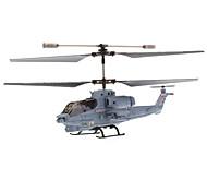 SYMA S108G 3.5 kanaals infrarood afstandsbediening Mini Helicopter met Gyro (Blauw, 6xAA)