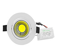 10W Dimmable High Power 10W Cob LED Ceiling Light Cool White 6000K