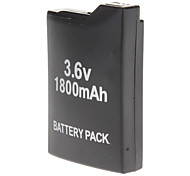 Battery Pack 1800mAh Rechargeale + Volver Funda para Sony PSP 1000 1001