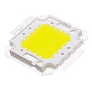 50W COB 3950-4000LM 6000-6500K Luz Cool White LED Chip (30-36V)