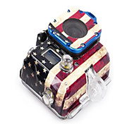 Usa Nationalflagge Muster Stickerfor Gopro Hero 3 Kamera