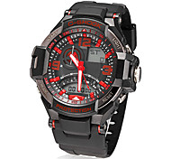 Men's Multi-Function Analog-Digital Dial Quartz LCD Wrist Watch (Assorted Colors)