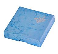 Bleu doux Boîte à bijoux de papier pour le bracelet (bleu) (1 pc)