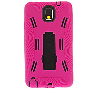 Detachable Gel Soft Outer Case Hard Back Cover with Stand for Samsung Galaxy Note3