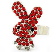 Rabbit Unisex Fashion Ring(Random Color)