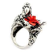 Flower Unisex Fashion Ring(Random Color)