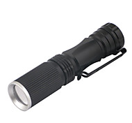 Others LED Flashlights / Handheld Flashlights 3 Mode 240 Lumens 14500 / AA Adjustable Focus LED Cree XR-E Q5Camping/Hiking/Caving /